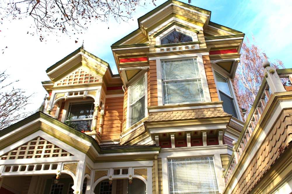 Maison victorienne à Santa Cruz