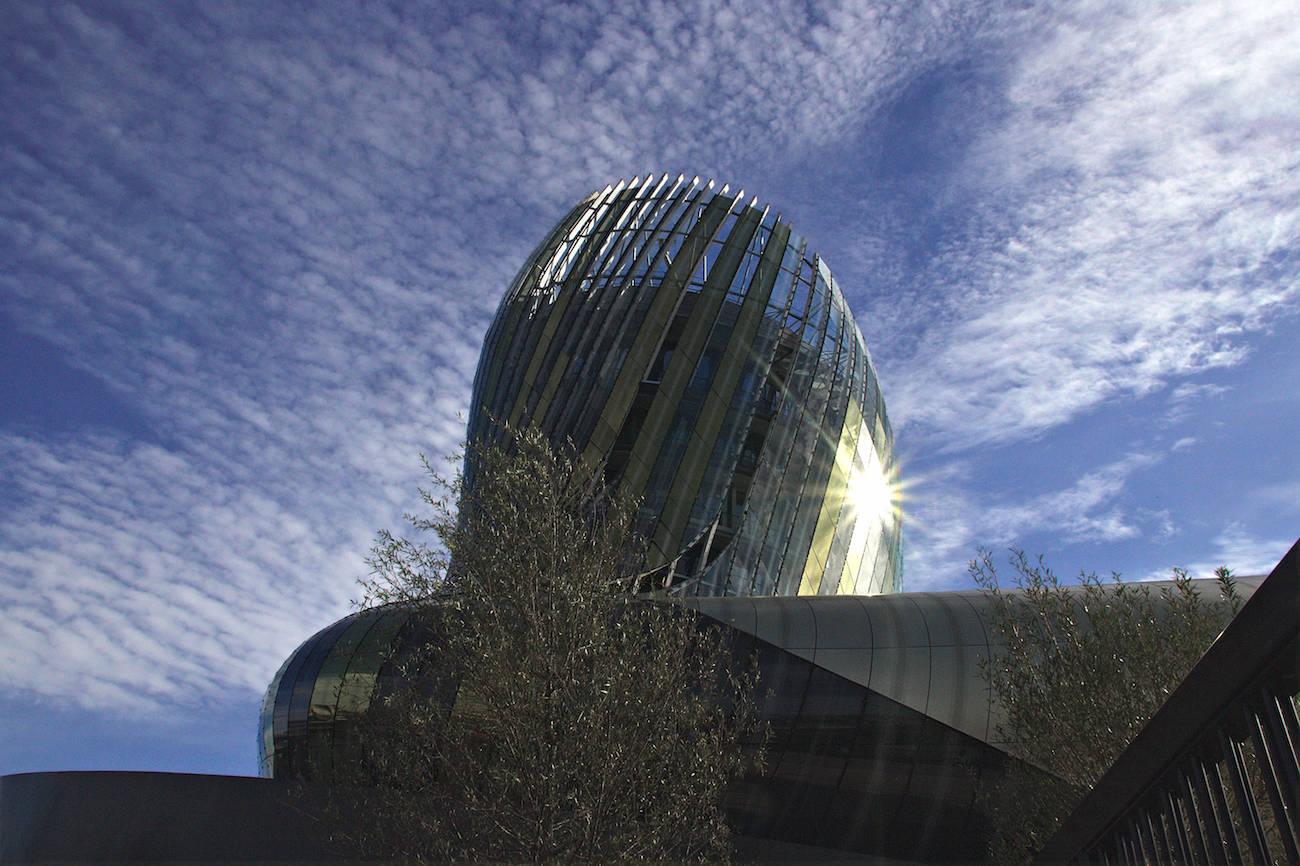 Visite à Bordeaux de la Cité du Vin