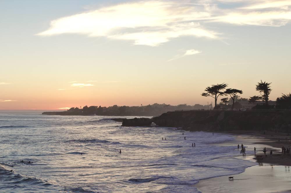 Bord de mer à Santa Cruz