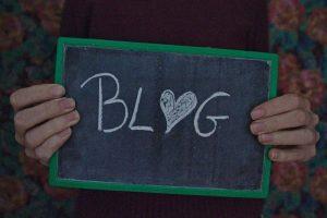Blog - message à la craie