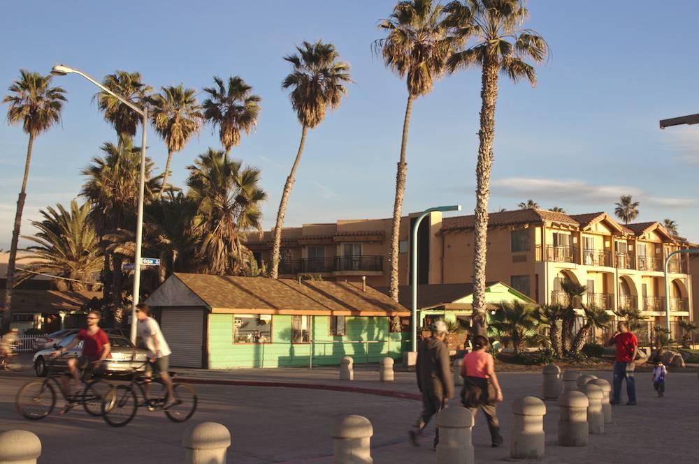 Ambiance de San Diego en Californie