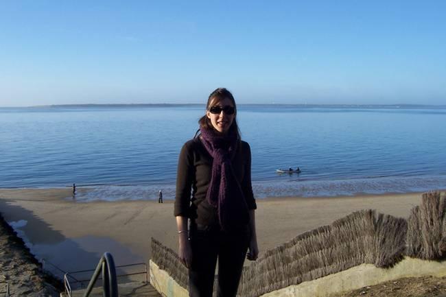 un jour de soleil sur le Bassin d'Arcachon en hiver