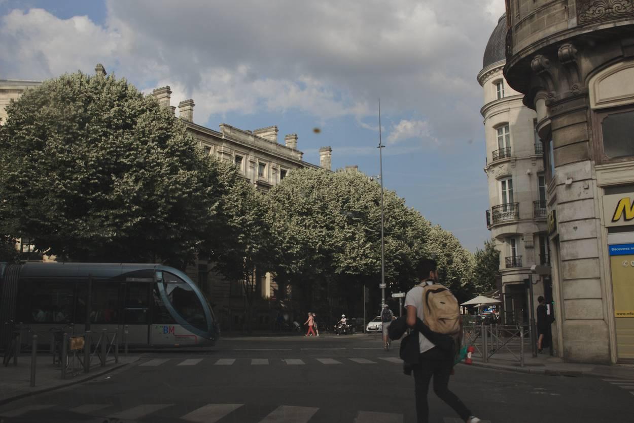 Bordeaux et le tram