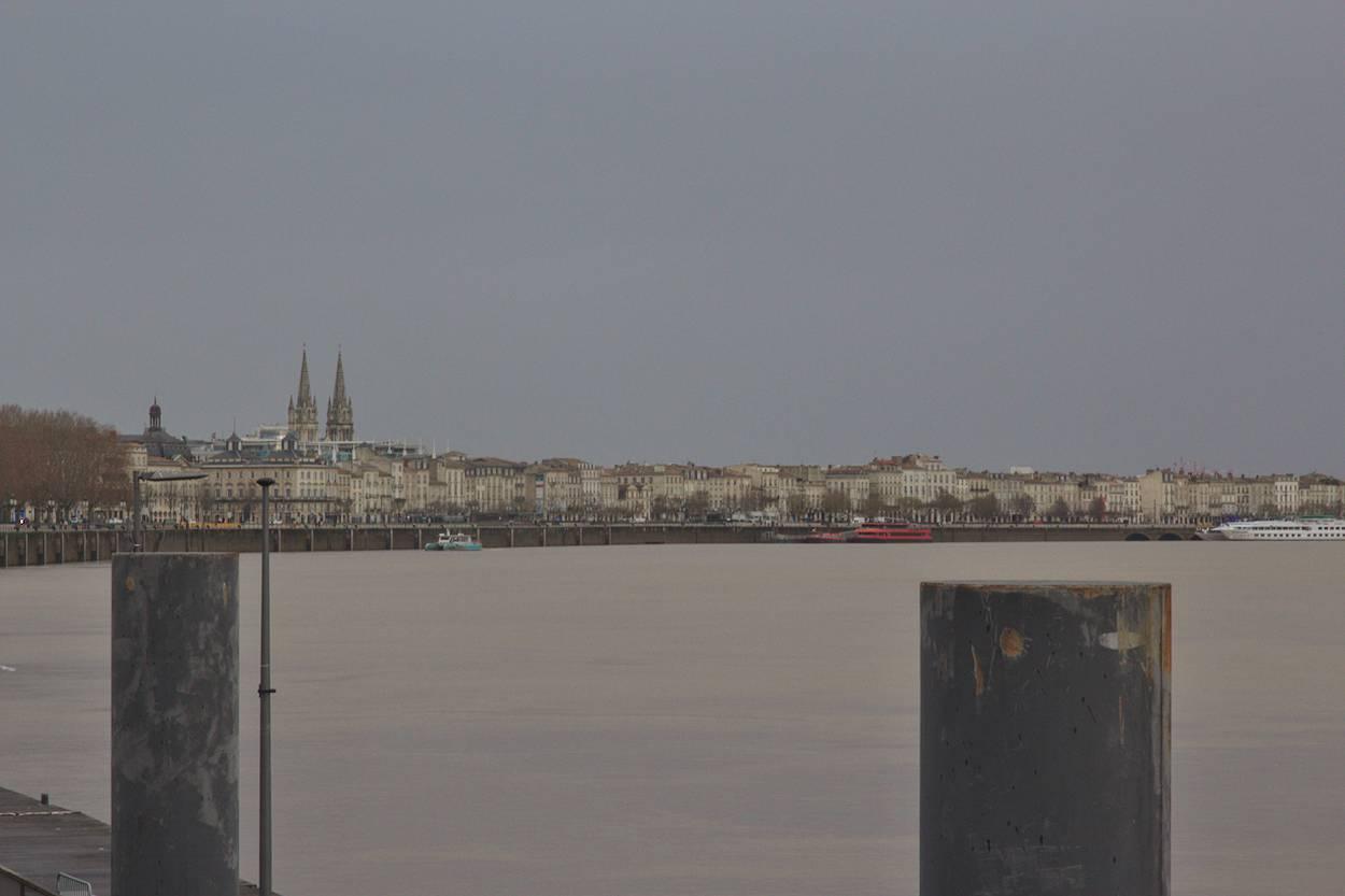 Météo à Bordeaux temps gris