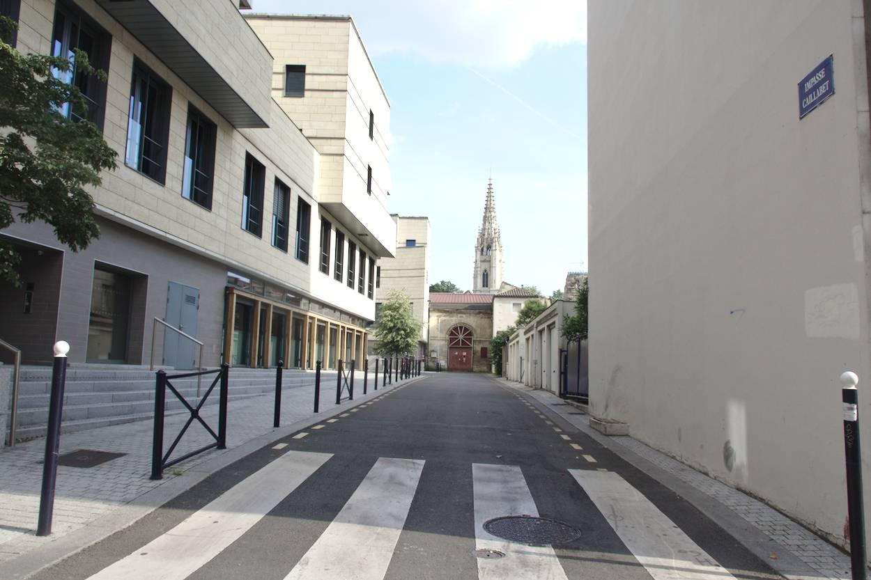 Petite rue du centre ville de Bordeaux