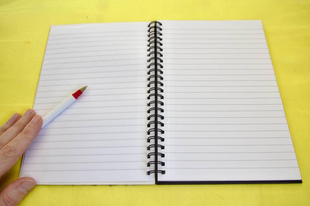 Ecrire sur papier