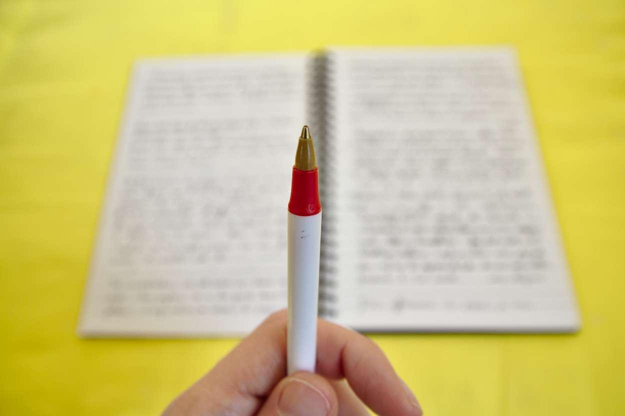 Ecrire tous les jours