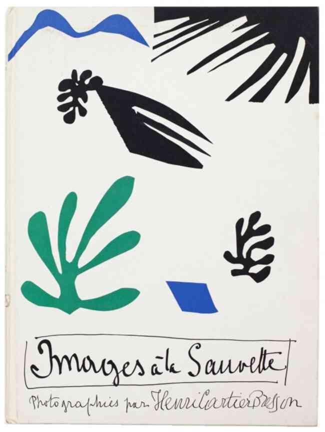 Images à la Sauvette d'Henri Cartier-Bresson, paru en 1952, image de couverture de Matisse