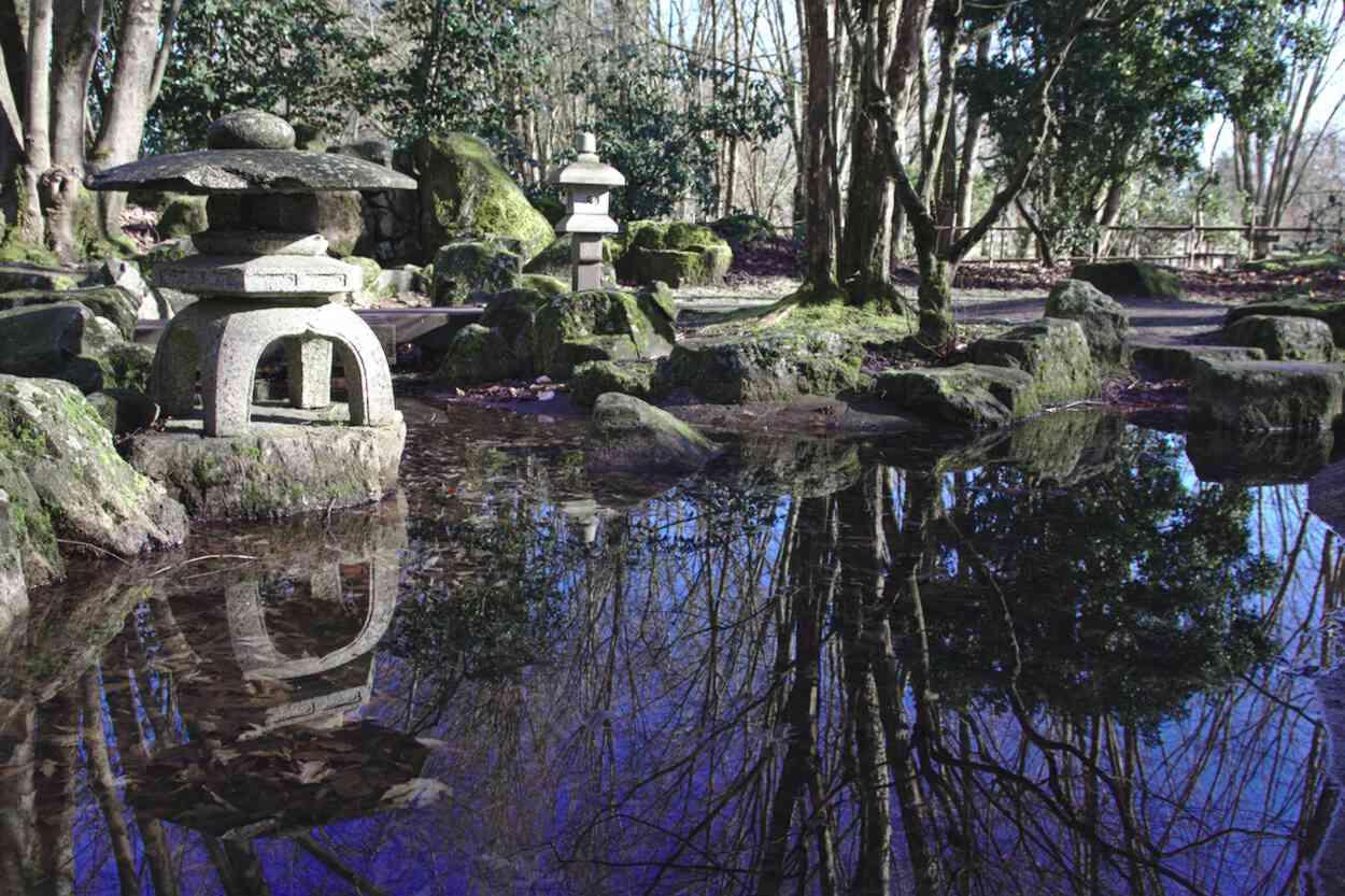 Jardin japonais du Parc floral de Bordeaux