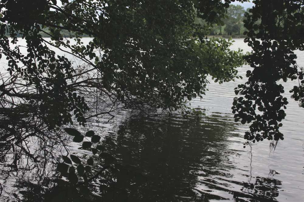 Chemin Bazas Lac de la Prade