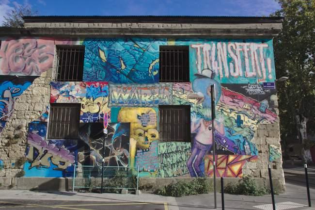 Bacalan street art vieille maison