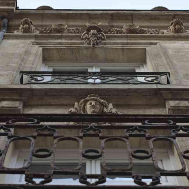Mascarons de la rue Bouffard