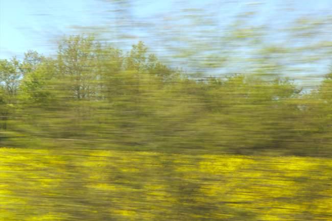 Paysage et vitesse