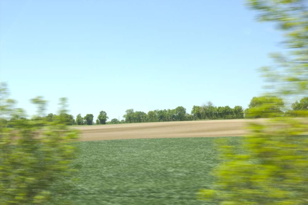 Paysage vu de la route