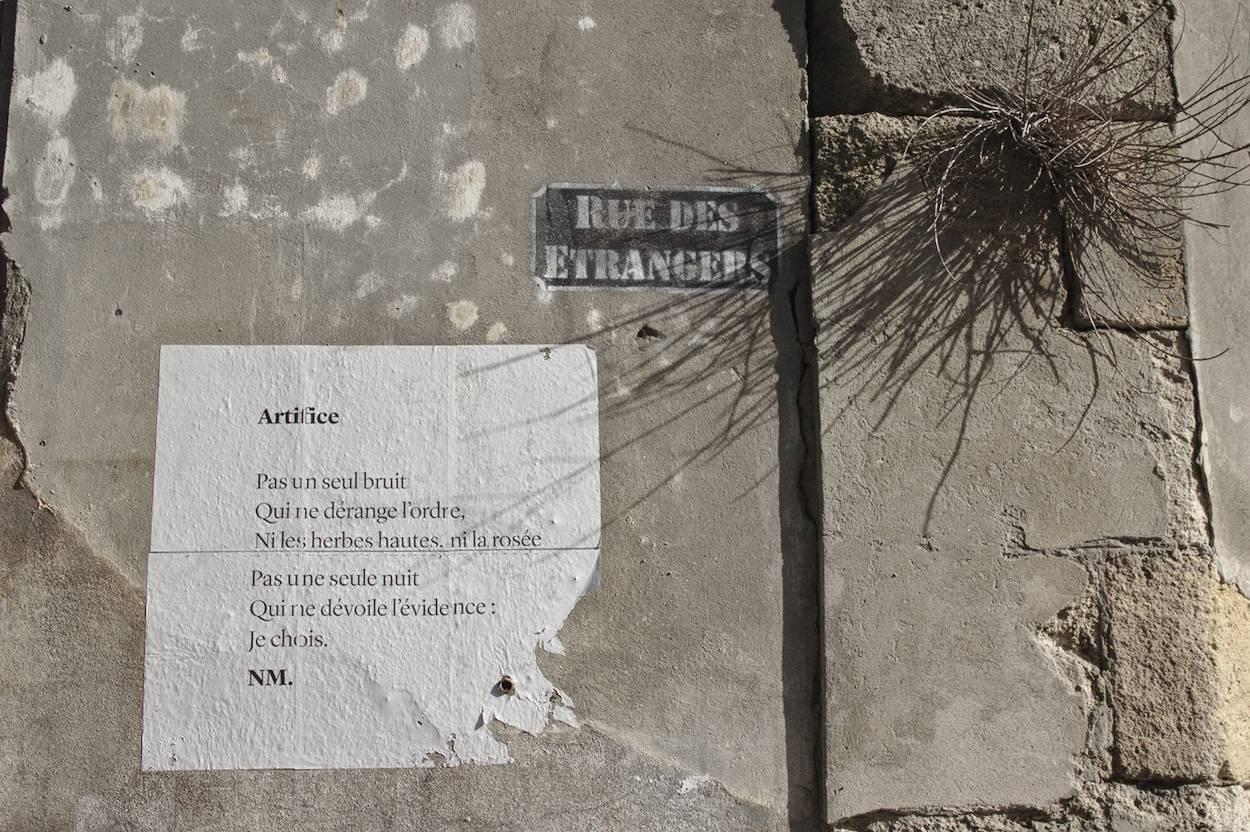 Rue des étrangers Bordeaux