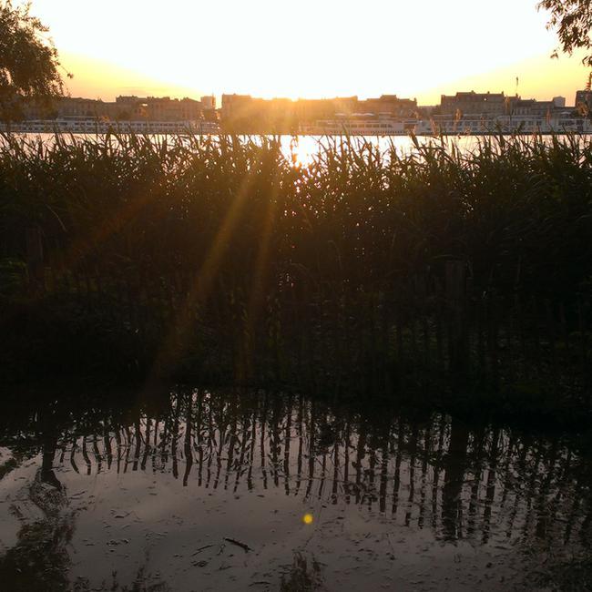 Coucher du soleil chez Alriq