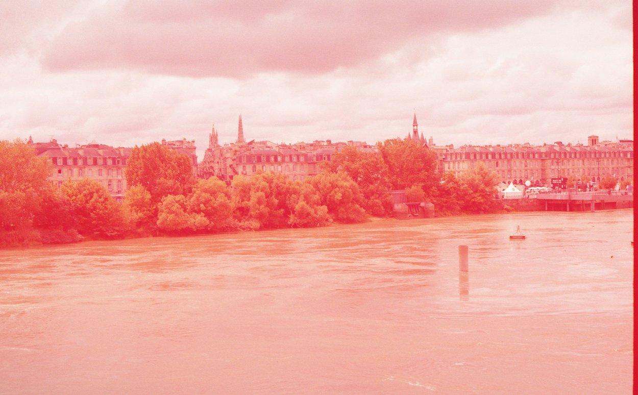 vue colorée de Bordeaux